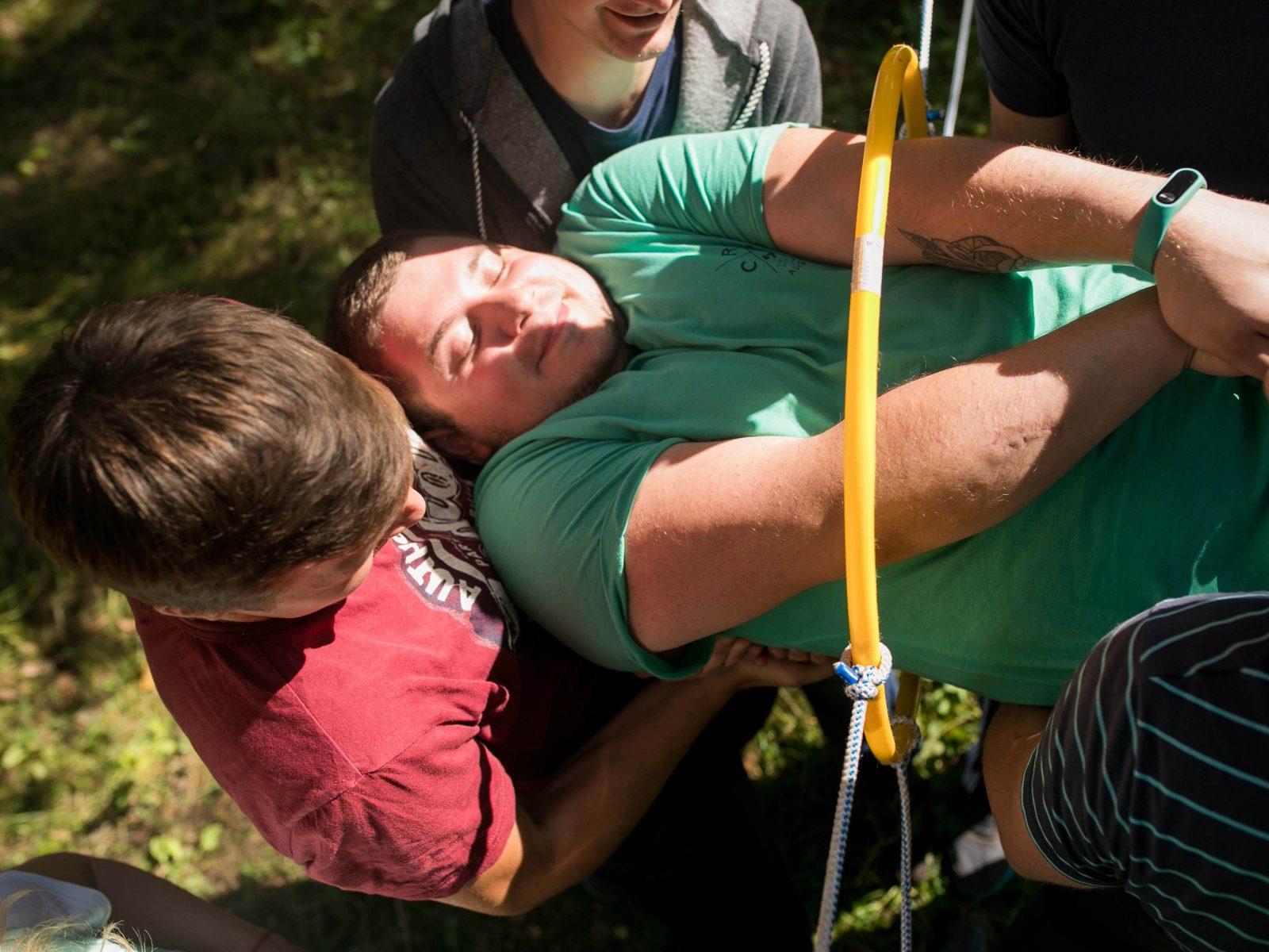 Фото проведения тимбилдинга по программе Глаз дракона от Red-g
