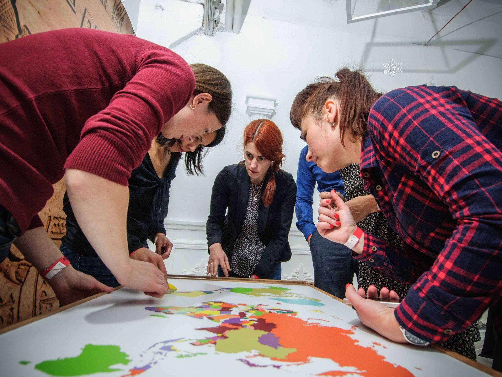 Фото проведения тимбилдинга по программе информационные технологии от Red-G