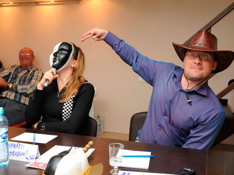 Фото проведения корпоративной игры в мафию от RedG