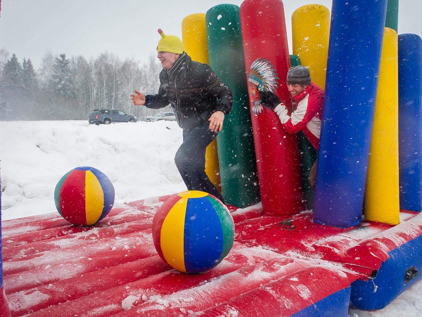 Фото проведения новогоднего тимбилдинга от RedG