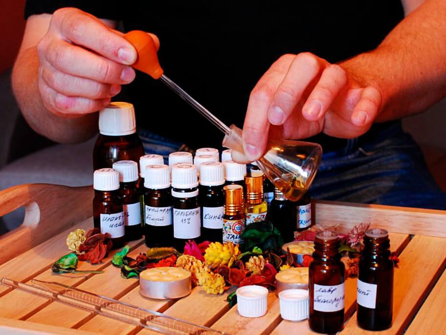 Фото проведения парфюмерного тимбилдинга от RedG
