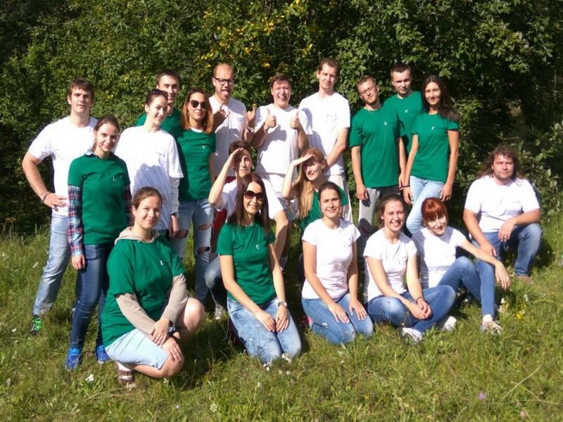 Фото проведения экологического тимбилдинга от RedG