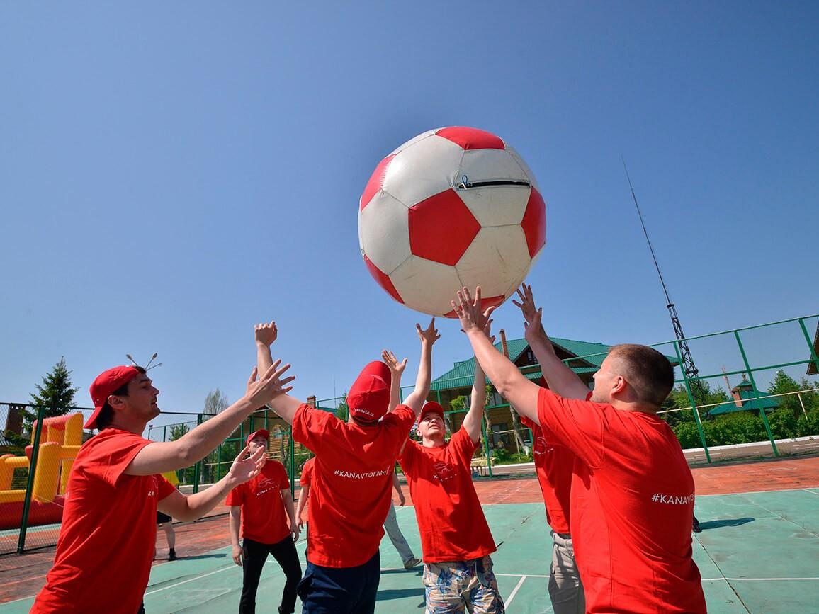 Фото проведения спортивного тимбилдинга от RedG