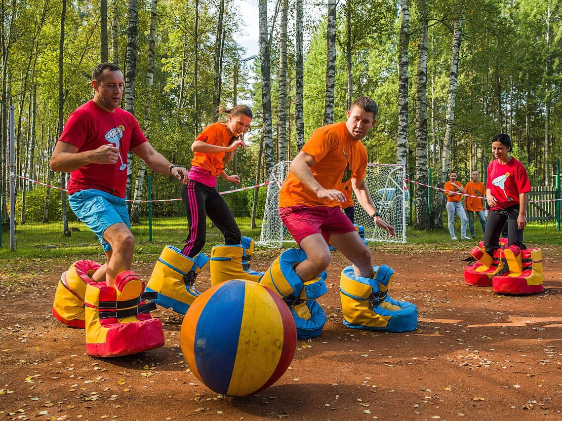 Фото проведения тимбилдинга по программе Вокруг света от RedG