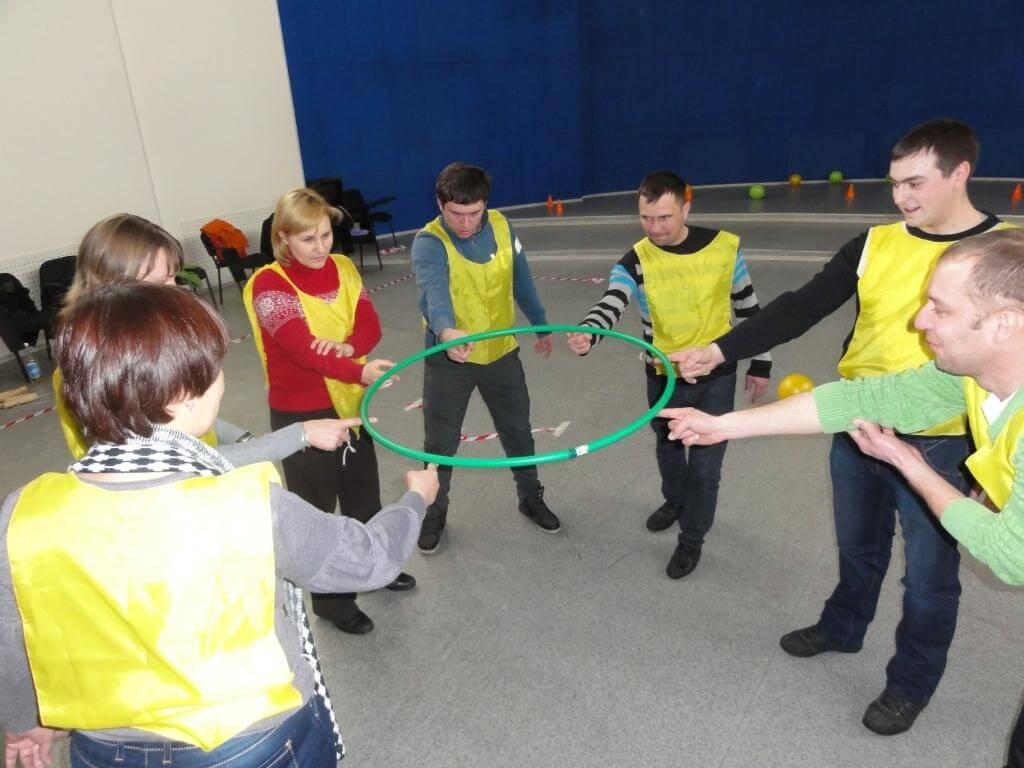 Фото проведения тимбилдинга по программе Волшебный круг от RedG