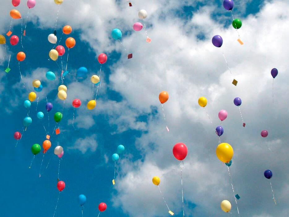 Фото проведения тимбилдинга по программе Воздушные шары от RedG