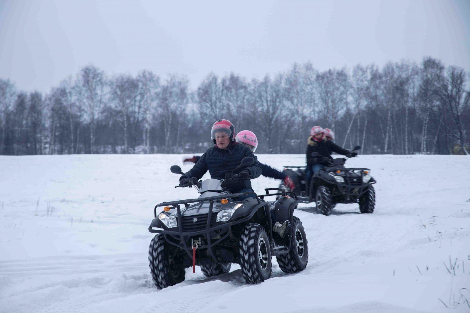 зимний тимбилдинг от RedG