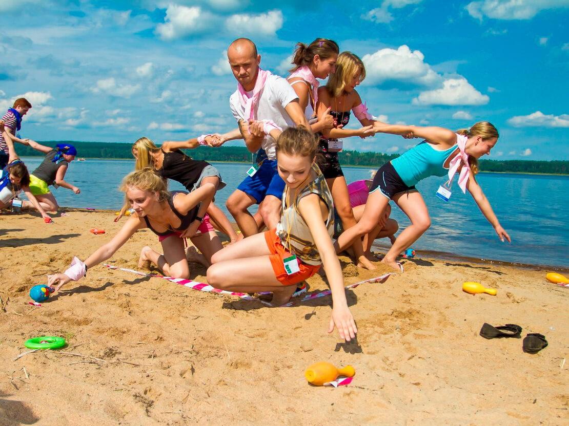 Фото проведения детского тимбилдинга от RedG