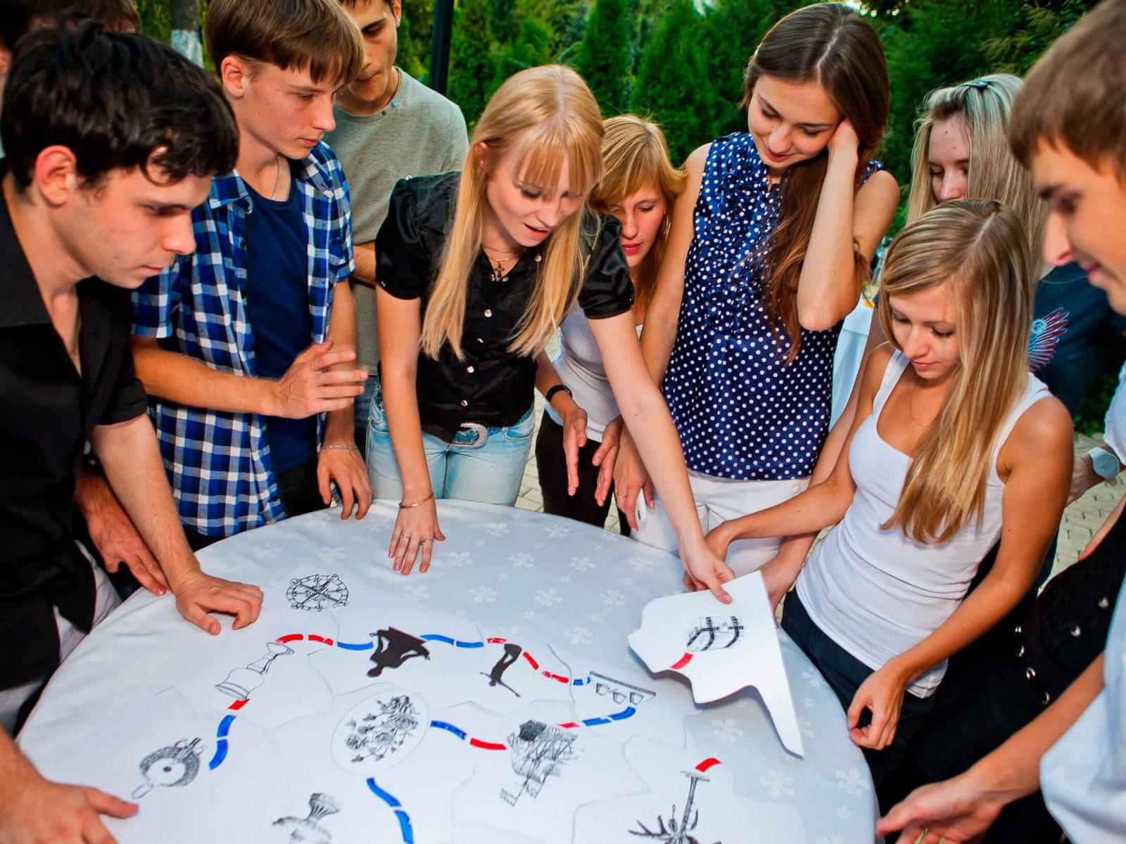 Фото проведения тимбилдинга на природе от RedG