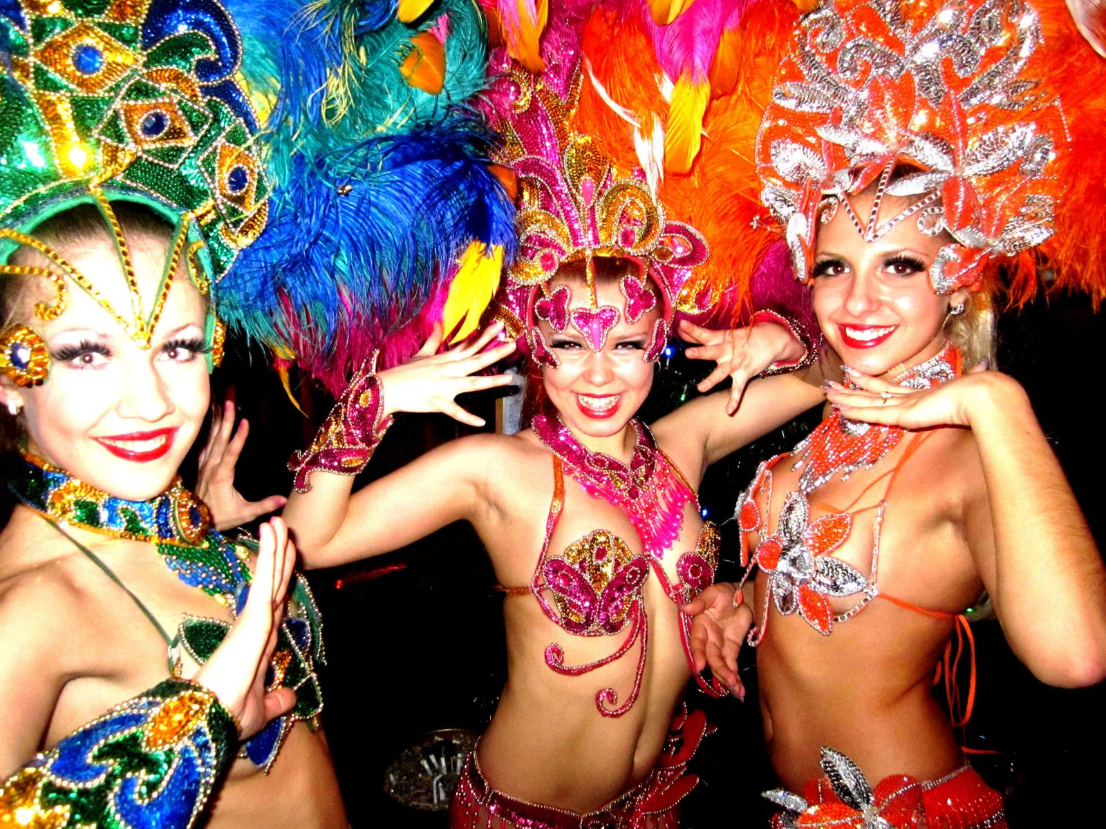 Фото проведения корпоратива по программе Бразильский карнавал от RedG