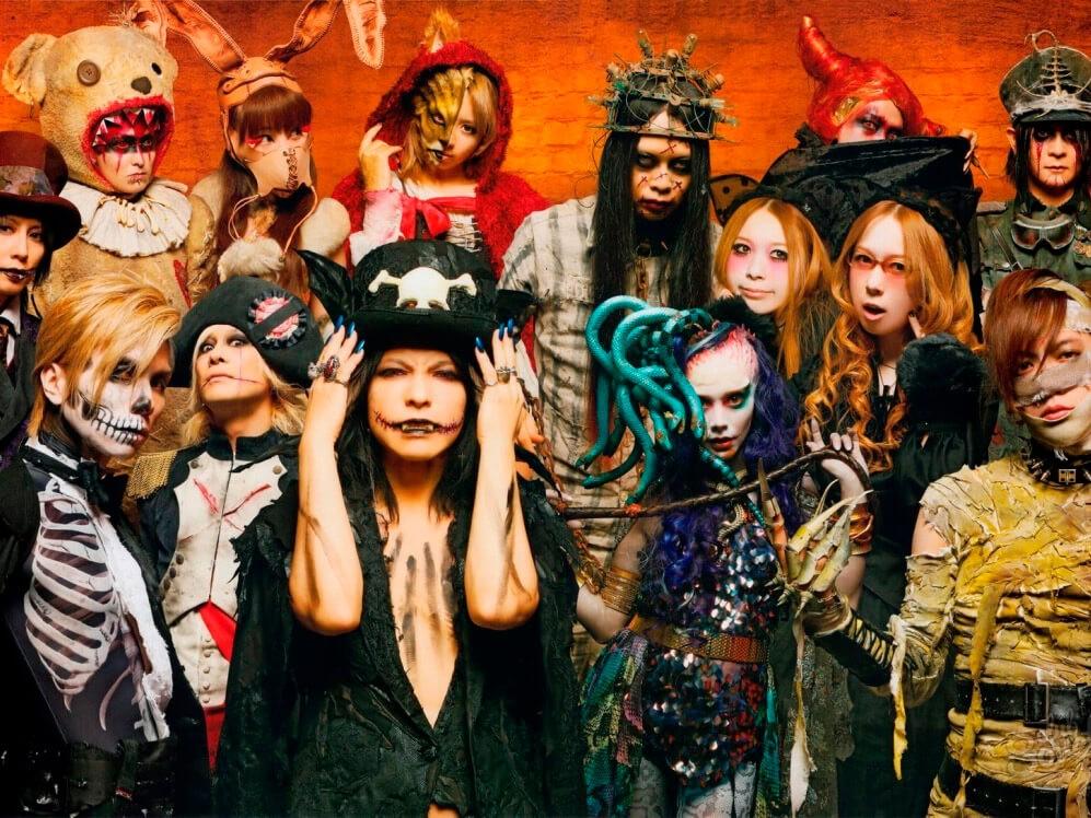 Фото проведения корпоратива на Хеллоуин от Red-G