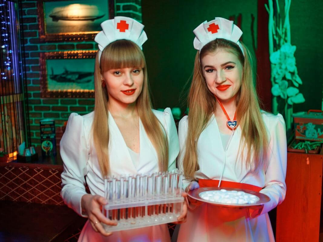 Фото проведения медицинского корпоратива от Red-G