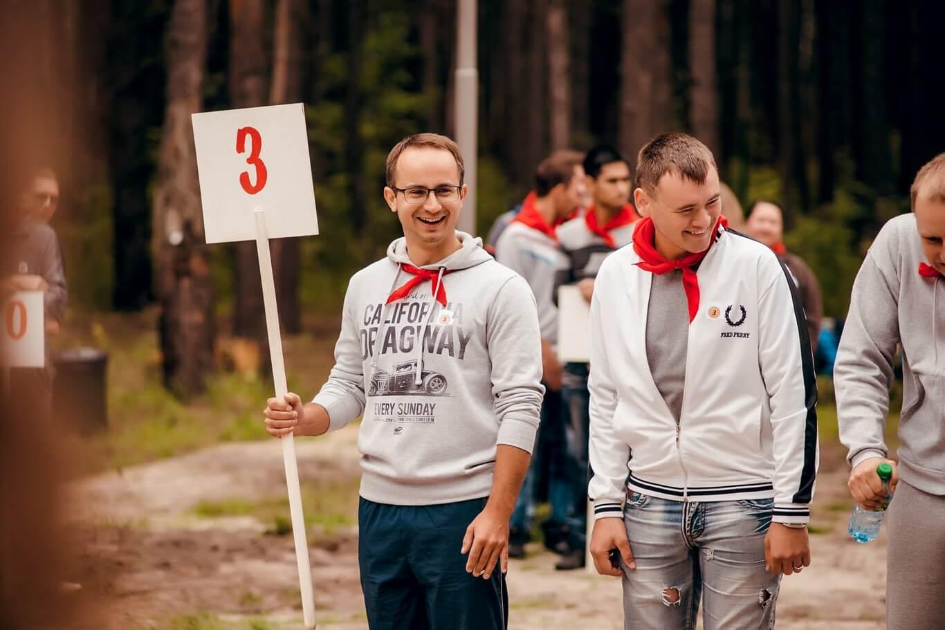 Фото проведения пионерского тимбилдинга от RedG