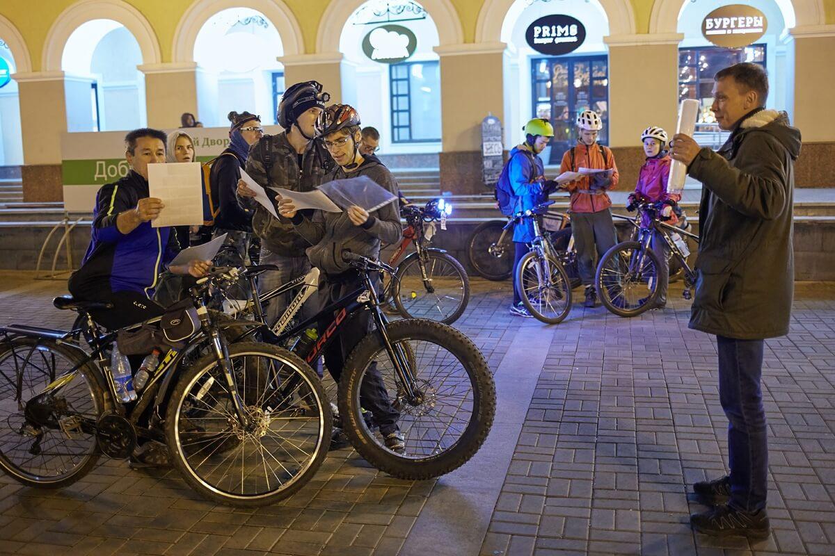 Фото проведения велоквеста от RedG