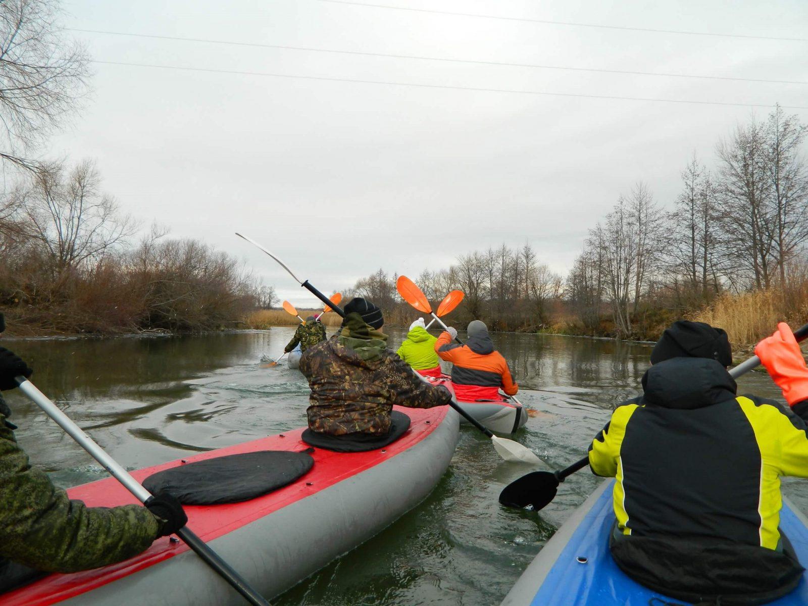 Фото проведения корпоративного сплава по реке от RedG
