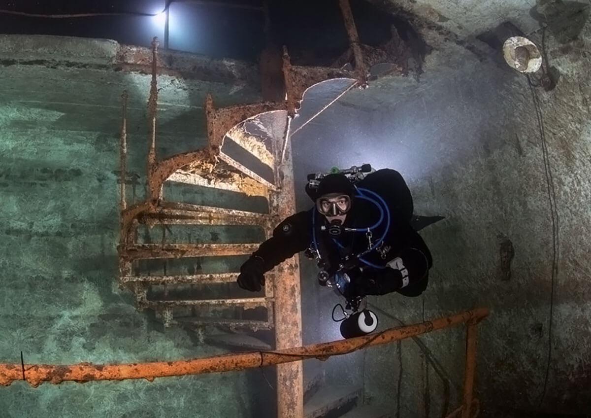 Фото проведения подводного тимбилдинга от Red-G